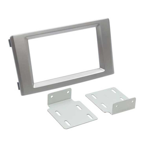 AERPRO FP8091S FACIA KIT SUIT IVECO DAILY 2007-14 SILVER 2-DIN