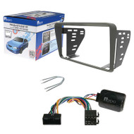 Aerpro FP9241K 2-DIN Stereo Install Kit Suit Ford Falcon Au Series 2/3 Grey
