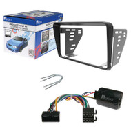 AERPRO FP9240K STEREO INSTALL KIT SUIT FORD FALCON AU SERIES 2/3 BLACK 2-DIN