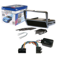 AERPRO FP9141K STEREO INSTALL KIT SUIT FORD FALCON AU SERIES 2/3 GREY SINGLE-DIN