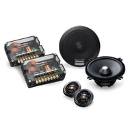 "Pioneer TS-C132PRS 5.25"" 150W Stage 4 Reference Series Component Speaker Package"