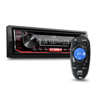 Single DIN CD Receiver with Bluetooth/USB/AUX Input & Streaming DJ