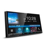 Kenwood DMX7018BT 7 Inch Touchscreen AV Digital Media Receiver with Waze Nav App Solution