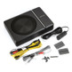 "Kenwood KSC-PSW8 8"" 250W Compact Powered Subwoofer with Wired Remote"
