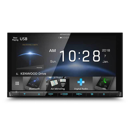 "Kenwood DDX9018DABS 6.8"" 2-DIN DAB+ AV Receiver with Apple Carplay/Android Auto & Air Mirroring"