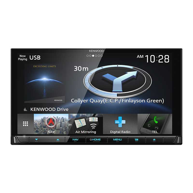 Kenwood Dnx9180dabs 6 8 2 Din Dab Av Nav Receiver With Apple