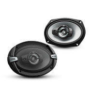 "JVC CS-DR693 DRVN DR Series 6x9"" 500W 3-Way Coaxial Speakers"