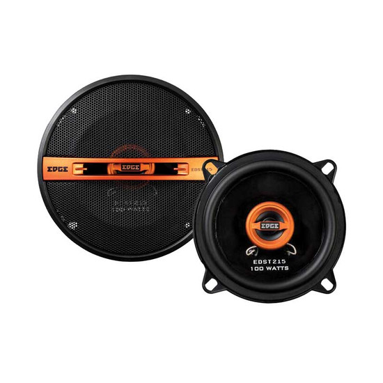 "EDGE EDST215-E6 5.25"" 2-WAY COAXIAL SPEAKERS 100W"