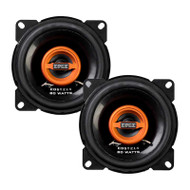 "EDGE EDST214-E6 4"" 2-WAY COAXIAL SPEAKERS 80W"