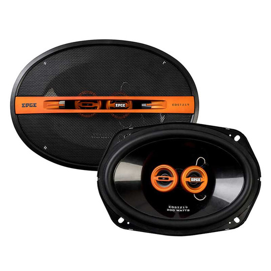 "Edge EDST219-E6 6x9"" 200W Street Series 3-Way Coaxial Speakers"