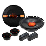 "EDGE STREET EDST216C-E6 6.5"" 2-WAY COMPONENT SPEAKER SYSTEM 140W"