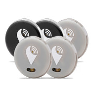 TrackR Pixel TP5PK3SI2BL 5 Pack Bluetooth Tracker Silver/Black