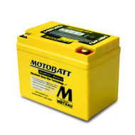 Motobatt MBTX4U 12V 4.7Ah 70CCA AGM Motorcycle Battery with Quadflex Technology
