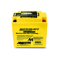 Motobatt MB9U 12V 11Ah 140CCA AGM Motorcycle Battery with Quadflex Technology