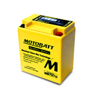 Motobatt MBTX7U 12V 8Ah 115CCA AGM Motorcycle Battery with Quadflex Technology