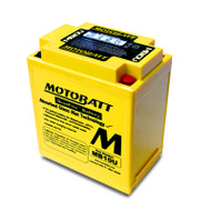 Motobatt MB10U 12V 14.5Ah 175CCA AGM Battery with Quadflex Technology