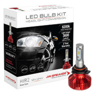 JW SPEAKER 3600 DRIVERLESS LED HIR2 HEADLIGHT BULB CONVERSION KIT 6200K