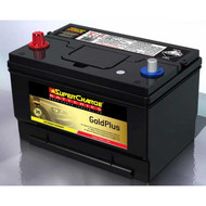 SUPERCHARGE GOLD PLUS MF65 BATTERY USA 12V 780CCA