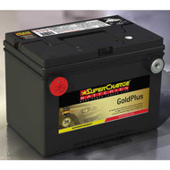 SUPERCHARGE GOLD PLUS MF78 BATTERY USA 12V 760CCA