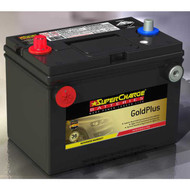 SUPERCHARGE GOLD PLUS MF78-DT BATTERY USA 12V 760CCA