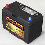 SUPERCHARGE GOLD PLUS MF95D31RW 4WD BATTERY 12V 810CCA