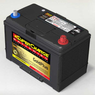 SUPERCHARGE GOLD PLUS MF95D31LW 4WD BATTERY 12V 810CCA