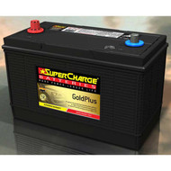 SUPERCHARGE GOLD PLUS MF31-931 4WD BATTERY 12V 1000CCA