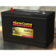 SUPERCHARGE GOLD PLUS MF31-930 4WD BATTERY 12V 1000CCA