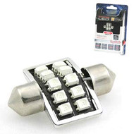 AERPRO SMD97R 10X SUPER SMD LED 31MM FESTOON INTERIOR GLOBE RED