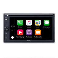 "SONY XAV-AX200 6.4""TOUCHSCREEN MEDIA RECEIVER WITH APPLE CARPLAY & ANDROID AUTO"