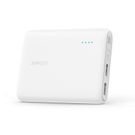 Anker A1214H21 10400mAh iPhone/iPad/Samsung Galaxy Portable Charger - White