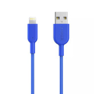 Anker A8432H31 PowerLine II 0.9m iPhone Lightning Cable - Blue