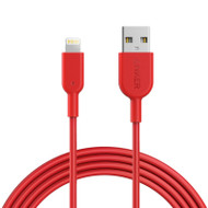 Anker PowerLine II Lightning Cable (1.8m) - Red (A8433H91)