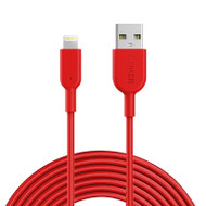 Anker PowerLine II Lightning Cable (3m) - Red (A8434H91)