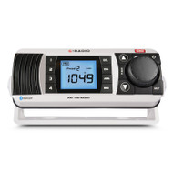 GME GR300BTW AM/FM Marine Radio with Bluetooth - White