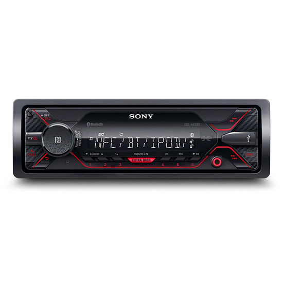 sony dsx a410bt mechless media receiver with bluetooth technology frankies auto electrics. Black Bedroom Furniture Sets. Home Design Ideas