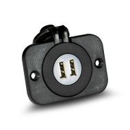 Aerpro APDCP6 Panel Mount Dual USB Socket