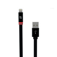 Scosche i3FLED FlatOut™ Charge & Sync Cable with Charge LED Indicator for Lightning devices