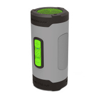 Scosche BTH2PTSGY BoomBOTTLE H2O+ Rugged Waterproof Wireless Speaker