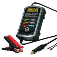 Stanley BC8AU 6Amp Digital Battery Charger with 8Amp Boost