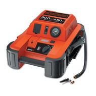 Black + Decker BDJS450IAU 450 Instant AMP Professional Jump Starter with Inflator