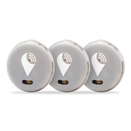 TrackR Pixel TP3PK3SI 3 Pack Bluetooth Tracker Silver