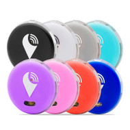 TrackR Pixel TP8PKBLWHSIAQPUPIRDBU 8 Pack Bluetooth Tracker Black/White/Silver/Aqua/Purple/Pink/Red/Blue