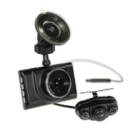Gator GHDVR52R Full HD 1080p Dash Cam with Rear View Cam