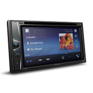 "Pioneer AVH-G215BT In-Dash Double-DIN DVD Multimedia AV Receiver with 6.2"" WVGA Touchscreen Display, Built-in Bluetooth®, and Certain Android Phones"