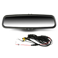 "Gator GRM430EM OEM Style Replacement Mirror with 4.3"" Reversing Monitor"