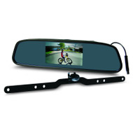 "Gator GRV43M 4.3"" Clip On Mirror Reverse Camera Kit Wired"
