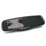 "Gator GT43OEM OEM Style Rearview Mirror with 4.3"" Reversing Monitor"