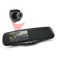 "Gator GT43OEMD 4.3"" R/View Mirror Reversing Camera with DVR"