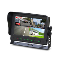 "Gator GT704DVR 7"" Commercial Grade Dash Mount Quad Display with DVR Function"